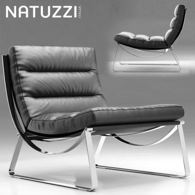 Natuzzi Cammeo Armchair 3D Model