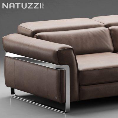 Natuzzi Fidelio 3-Seater Sofa 3D Model