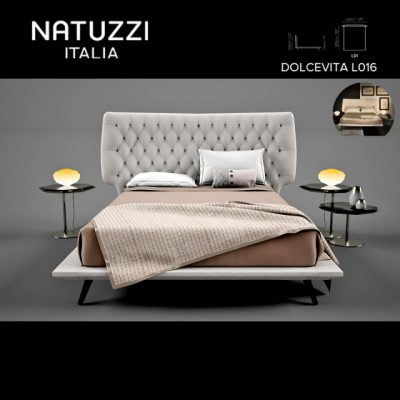 Natuzzi Italia Dolcevita L01 Bed 3D Model