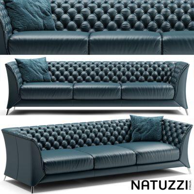 Natuzzi La Scala Sofa 3D Model