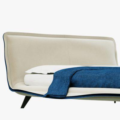 Natuzzi Piuma Bed 3D Model