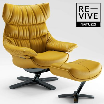 Natuzzi Re-Vive Armchair 3D Model