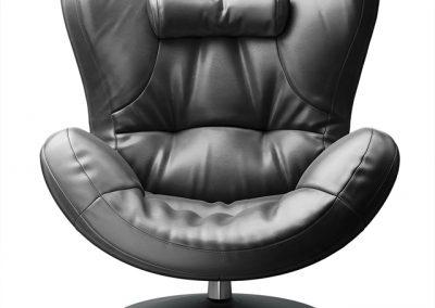 Natuzzi Sound Armchair 3D Model 3