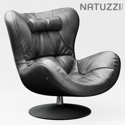 Natuzzi Sound Armchair 3D Model
