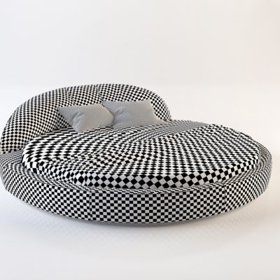 Naustro Italia Jazz Night Bed 3D Model