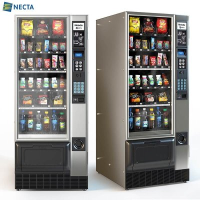 Necta Melodia vending machine 3D model