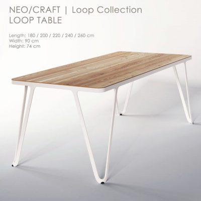 Neo Craft – Loop Table 3D Model