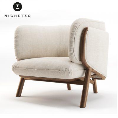 Nichetto 102s Stanley Armchair 3D Model