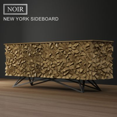 Noir New York Sideboard 3D Model