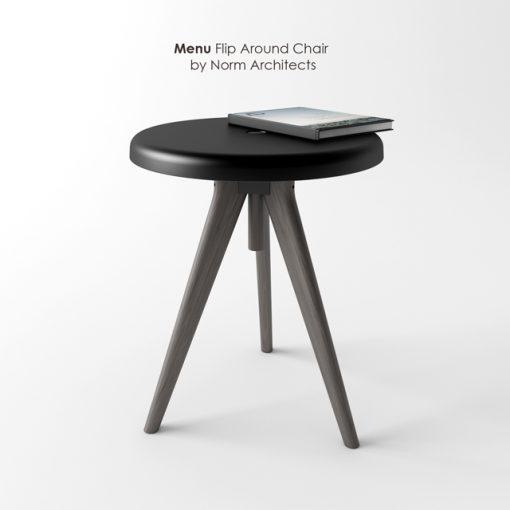 Norm Architects - Menu Flip Around Chair 3D Model 2