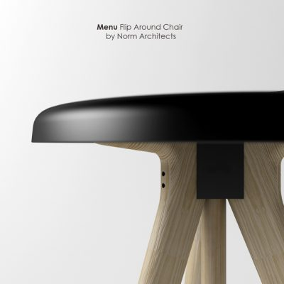 Norm Architects – Menu Flip Around Chair 3D Model