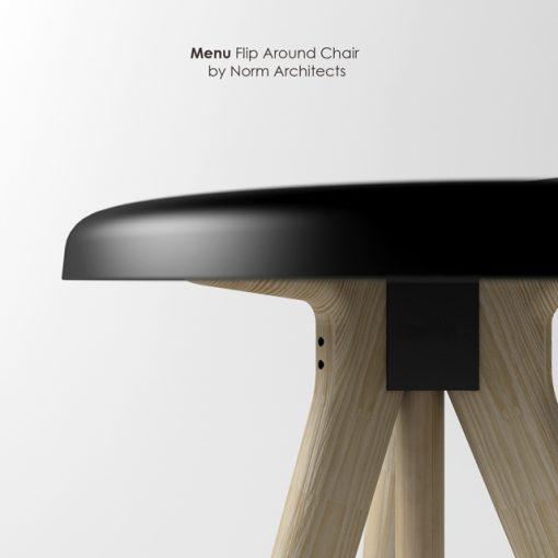 Norm Architects - Menu Flip Around Chair 3D Model 3