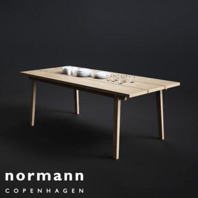 Normann Copenhagen Slice Table 3D Model