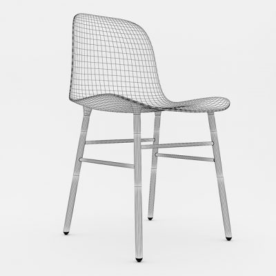 Normann Form Chair 3D Model