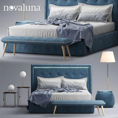 Novaluna Prince Bed 3D Model