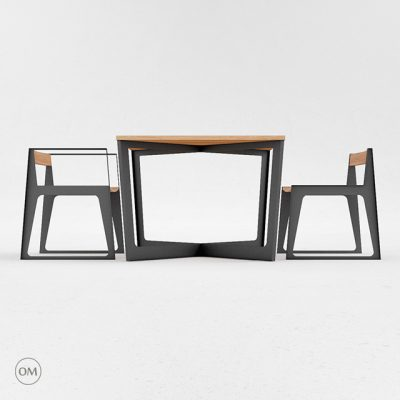 ODESD2 Table & Chair 3D Model 2
