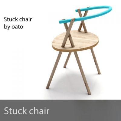 Oato – Stuck Chair 3D Model