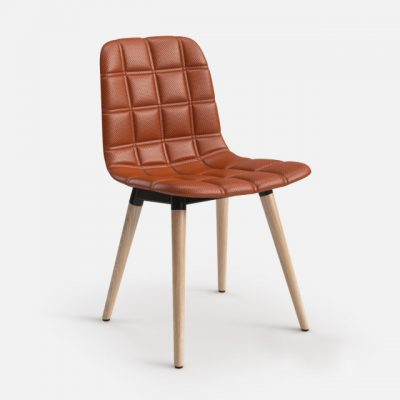 Offecct Bop Wood Chair 3D Model