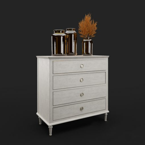 Olympe Chest of Drawers 3D Model