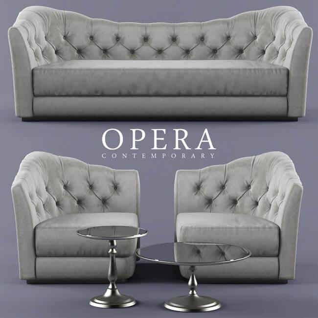 Opera Butterfly Sofa 1