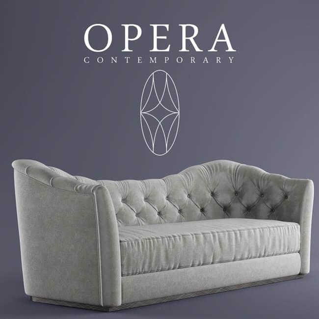 Opera Butterfly Sofa 2