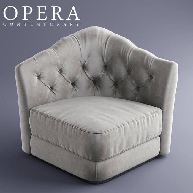 Opera Butterfly Sofa 3