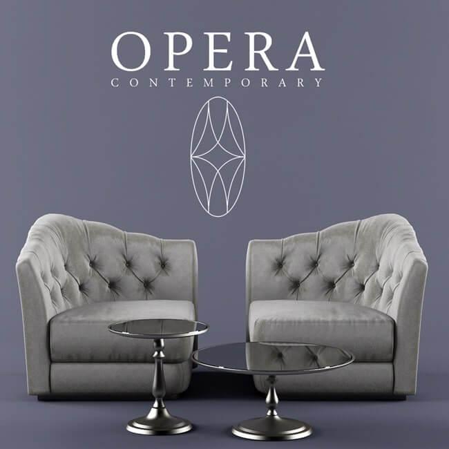 Opera Butterfly Sofa 4