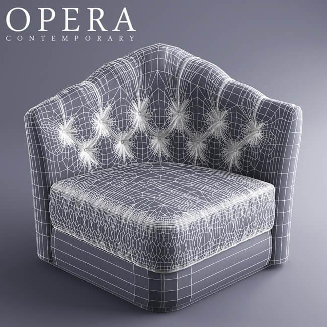 Opera Butterfly Sofa 5