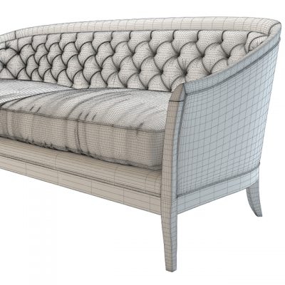 Opera Contemporary Marta Classic Sofa 3D Model