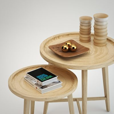 PN Side Table 3D Model