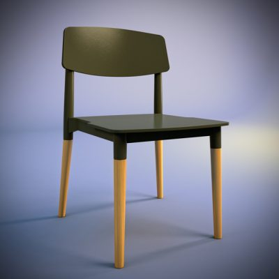 P&W-018 Chair 3D Model