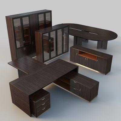 Palladio Office Set 3D Model