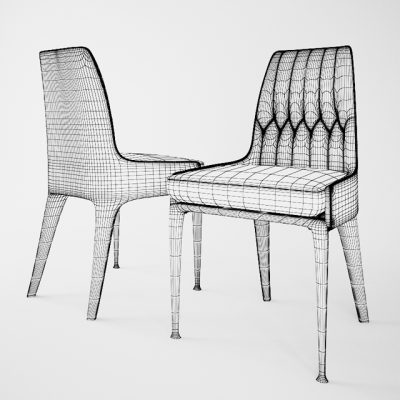 Palmyra Chair 3D Model