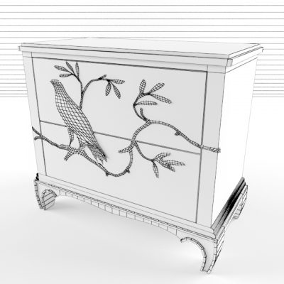 Pandora's Box Small Chest 3D Model