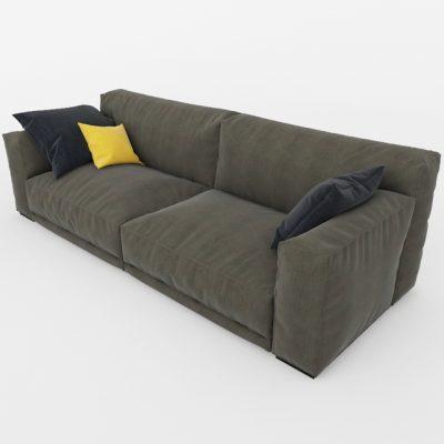 Paris-Seoul Sofa 3D Model