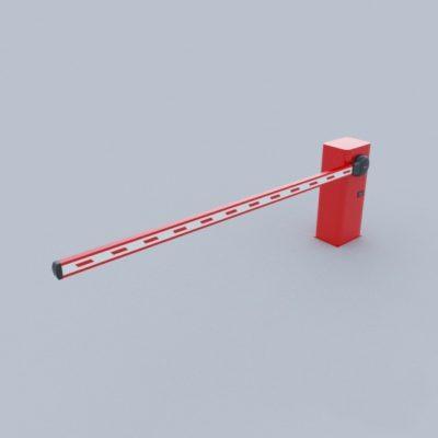 Parking barrier 3D Model