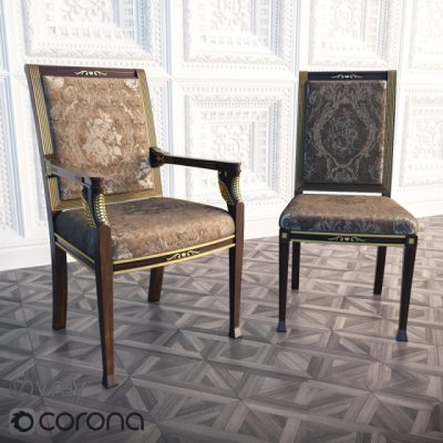 Parliament Chair 3D Model