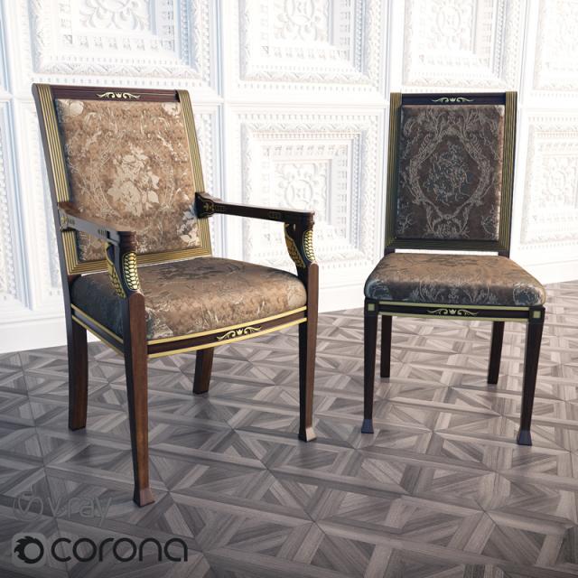 Parliament Chair 3D Model