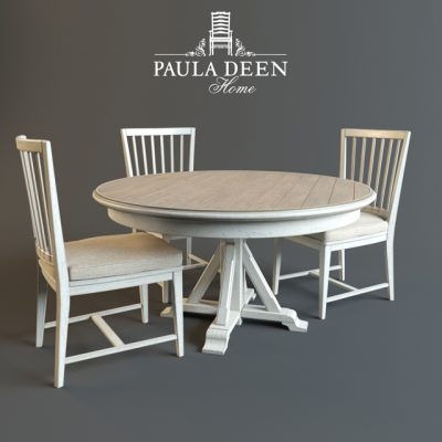 Paula Deen Home Garden Table & Chair 3D Model