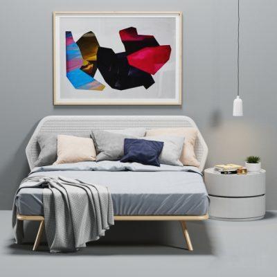 Pianca Trama Bed 3D Model