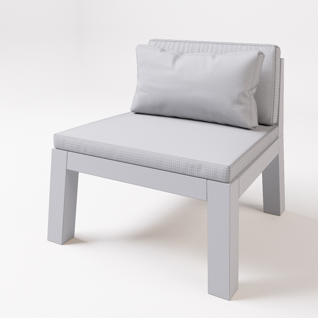 Piet Boon - Niek and Anne Table & Chair 3D Model 2