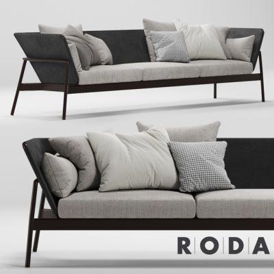 Piper Roda Sofa 3D Model