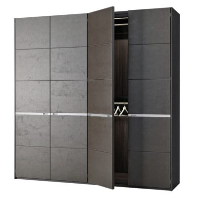 Poliform Bangkok 4 Doors Wardrobe 3D Model