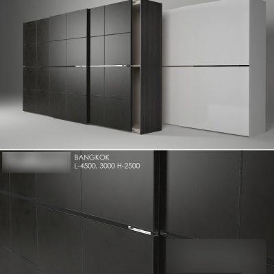 Poliform Bangkok Wardrobe 3D Model