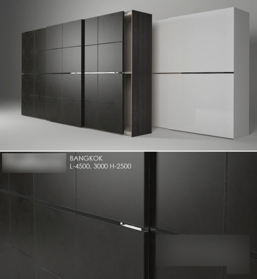 Poliform Bangkok Wardrobe 3D Model