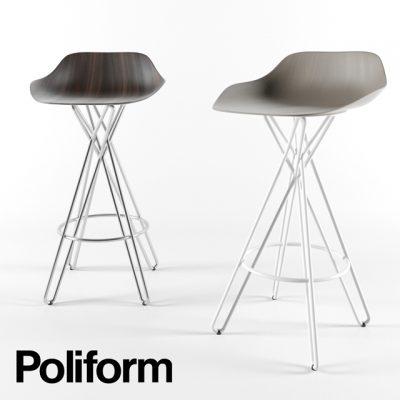 Poliform Harmony Stool 3D Model