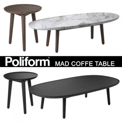 Poliform Mad Coffee Table 3D Model