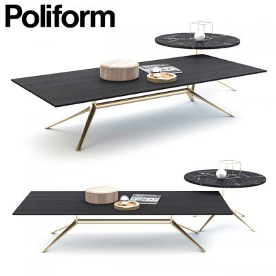 Poliform Mondrian Coffee Table 3D Model