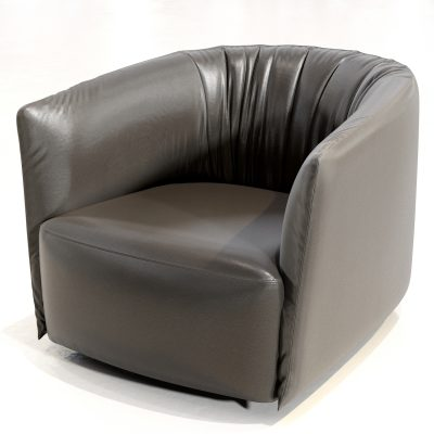 Poliform Santa Monica Armchair 3D Model