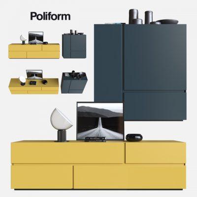 Poliform Sideboard 3D Model